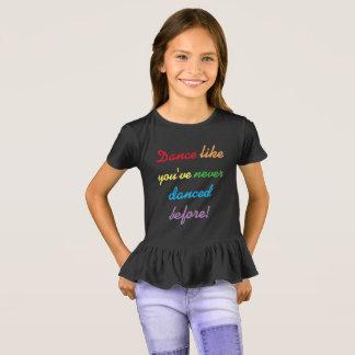 Rainbow dancer girls shirt