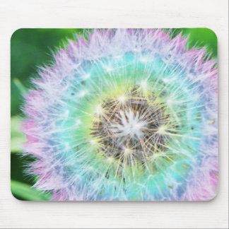 Rainbow Dandelion Mousepad