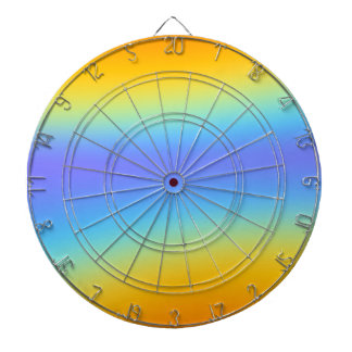 rainbow dartboard