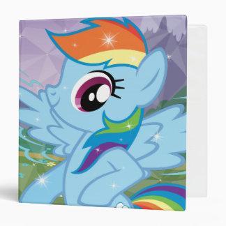 Rainbow Dash 3 Ring Binders