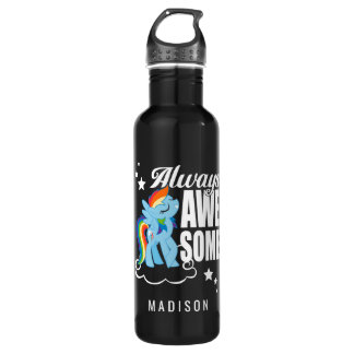 Rainbow Dash | Always Awesome 710 Ml Water Bottle