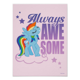 Rainbow Dash | Always Awesome Poster