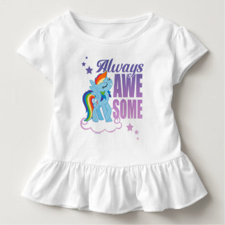 Rainbow Dash | Always Awesome Toddler T-shirt