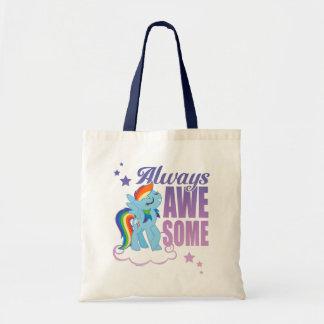 Rainbow Dash | Always Awesome Tote Bag