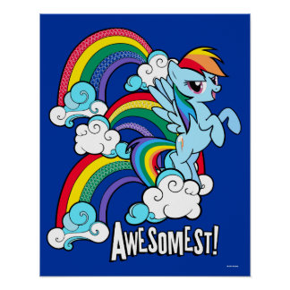 Rainbow Dash | Awesomest! Poster