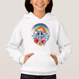 Rainbow Dash | Floral Watercolor Rainbow