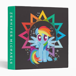 Rainbow Dash | Rainbow Powered 3 Ring Binders