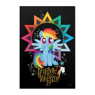 Rainbow Dash | Rainbow Powered Acrylic Wall Art