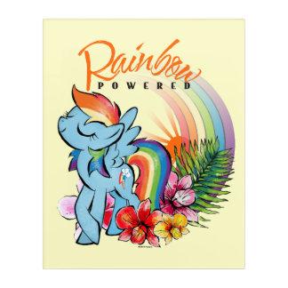 Rainbow Dash   Rainbow Powered Acrylic Wall Art