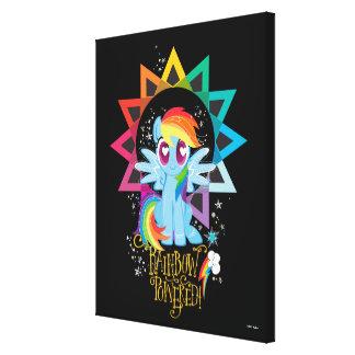 Rainbow Dash | Rainbow Powered Canvas Print