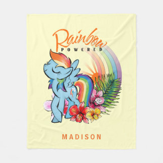 Rainbow Dash | Rainbow Powered Fleece Blanket