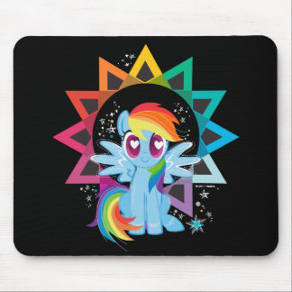 Rainbow Dash | Rainbow Powered Mouse Pad