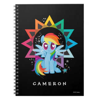 Rainbow Dash | Rainbow Powered Notebook