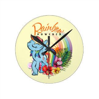Rainbow Dash | Rainbow Powered Round Clock