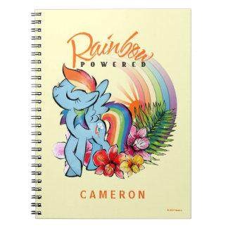 Rainbow Dash   Rainbow Powered Spiral Notebook
