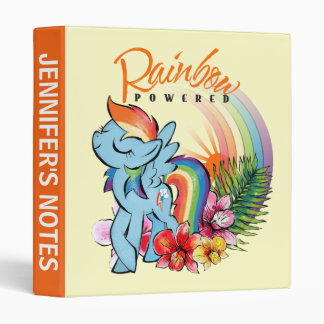 Rainbow Dash | Rainbow Powered Vinyl Binder
