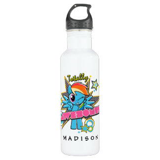 Rainbow Dash | Totally Awesome! 710 Ml Water Bottle