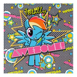 Rainbow Dash   Totally Awesome! Acrylic Print