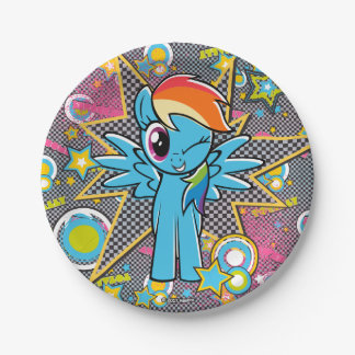 Rainbow Dash | Totally Awesome Paper Plate