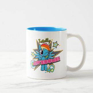 Rainbow Dash   Totally Awesome! Two-Tone Coffee Mug