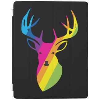 Rainbow deer iPad cover