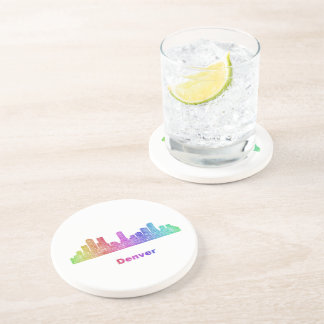 Rainbow Denver skyline Coaster