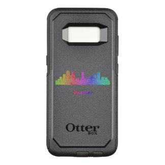 Rainbow Denver skyline OtterBox Commuter Samsung Galaxy S8 Case