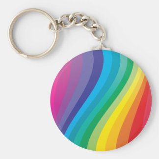 Rainbow design keychain