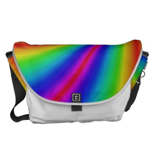 Rainbow Design Messenger Bag