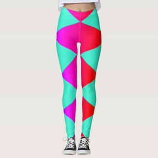 Rainbow Diamond Harlequin Leggings