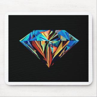 Rainbow Diamond Mouse Pad
