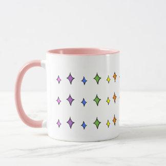 Rainbow Diamond Mug