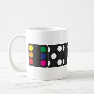Rainbow Dice Coffee Mug