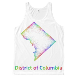 Rainbow District of Columbia map
