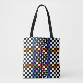 Rainbow Diversity Artsy PRIDE Checkered Bags