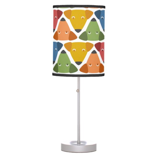 Rainbow Dogs Desk Lamps