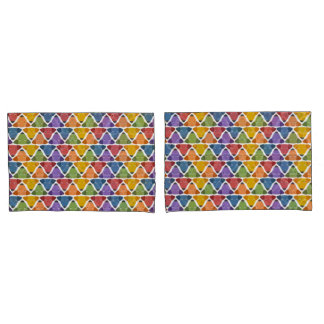 Rainbow Dogs Pillowcase