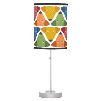 Rainbow Dogs Table Lamp