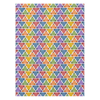 Rainbow Dogs Tablecloth
