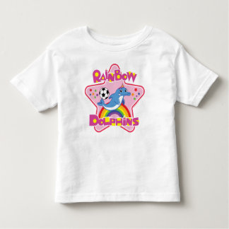 Rainbow Dolphins T-Shirt (2T-4T)
