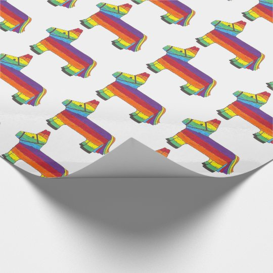 Rainbow Donkey Piñata Birthday Party Fiesta Pride
