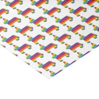 Rainbow Donkey Piñata Birthday Party Fiesta Pride Tissue Paper
