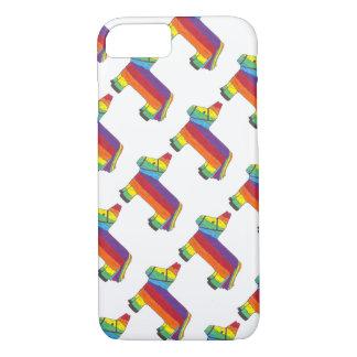 Rainbow Donkey Piñata Cinco de Mayo Pride Fiesta Case-Mate iPhone Case