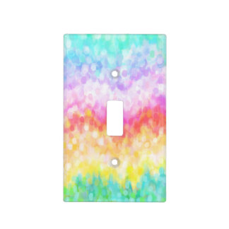 Rainbow Dots Light Switch Cover
