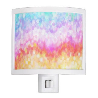 Rainbow Dots Night Light