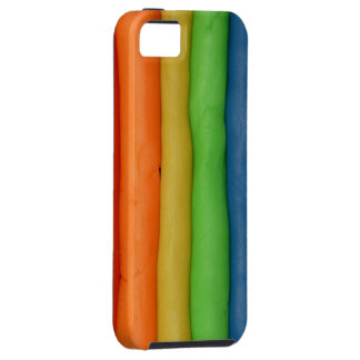 Rainbow Dough Strings iPhone 5 Covers