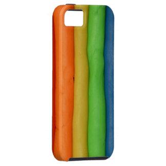 Rainbow Dough Strings iPhone 5 Covers