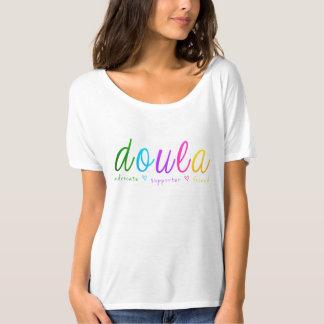 Rainbow Doula Design T-Shirt
