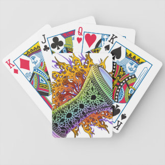Rainbow Doumbek Bicycle Playing Cards