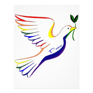 Rainbow Dove Flyers